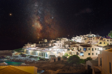 Binibeca at night