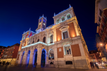 Valladolid at night