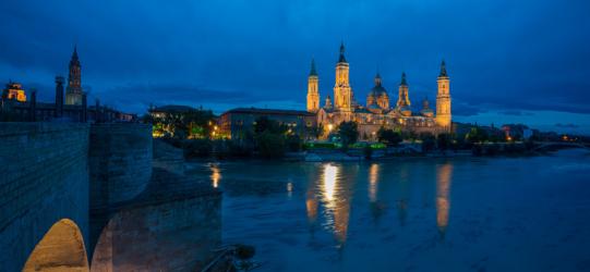 Vistas de la Basílica del Pilar