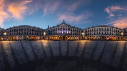 Panorámica Plaza España Vitoria